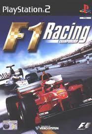 Portada oficial de F1 Racing Championship para PS2