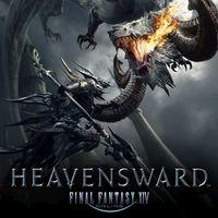 Portada oficial de Final Fantasy XIV: Heavensward para PS4