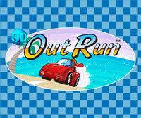 Portada oficial de 3D Out Run eShop para Nintendo 3DS