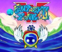 Portada oficial de 3D Fantasy Zone II eShop para Nintendo 3DS