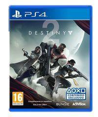 Portada oficial de Destiny 2 para PS4