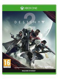 Portada oficial de Destiny 2 para Xbox One