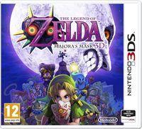 Portada oficial de The Legend of Zelda: Majora's Mask 3D para Nintendo 3DS