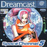Portada oficial de Space Channel 5 para Dreamcast