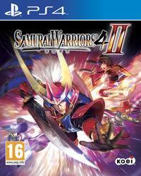 Portada oficial de Samurai Warriors 4-II para PS4