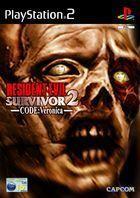 Portada oficial de Resident Evil Survivor 2 Code: Veronica para PS2