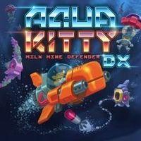 Portada oficial de Aqua Kitty - Milk Mine Defender DX para PS4