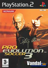 Portada oficial de Pro Evolution Soccer 3 para PS2