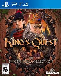 Portada oficial de King's Quest - Chapter I: A Knight to Remember para PS4