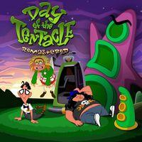 Portada oficial de Day of the Tentacle Remastered para PS4