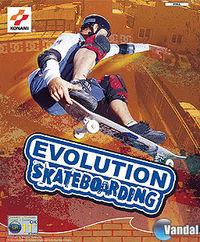 Portada oficial de Evolution Skateboarding para PS2