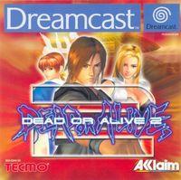 Portada oficial de Dead or Alive 2 para Dreamcast