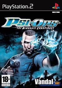 Portada oficial de Psi-Ops para PS2