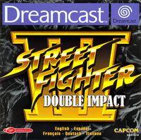 Portada oficial de Street Fighter 3 World Impact para Dreamcast