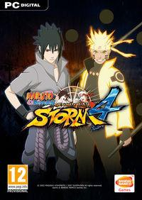 Portada oficial de Naruto Shippuden: Ultimate Ninja Storm 4 para PC