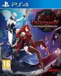 Portada oficial de Deception IV: The Nightmare Princess para PS4