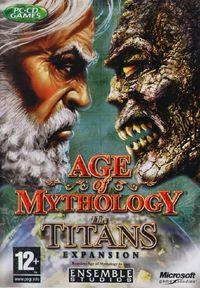 Portada oficial de Age of Mythology: The Titans para PC