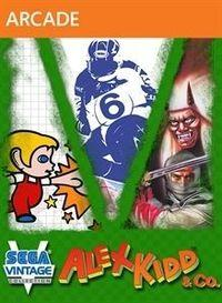 Portada oficial de Sega Vintage Collection: Alex Kidd & Co. XBLA para Xbox 360