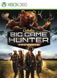 Portada oficial de Cabela's Big Game Hunter: Pro Hunts para Xbox 360