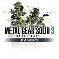 Portada oficial de Metal Gear Solid 3: Snake Eater - HD Edition PSN para PS3