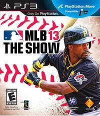 Portada oficial de MLB 13: The Show para PS3