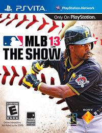 Portada oficial de MLB 13: The Show para PSVITA