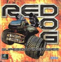 Portada oficial de Red Dog para Dreamcast