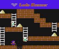Portada oficial de Lode Runner CV para Wii U