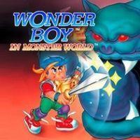 Portada oficial de Wonder Boy in Monster World PSN para PS3
