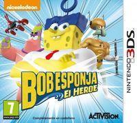 Portada oficial de Bob Esponja. El héroe para Nintendo 3DS