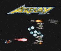 Portada oficial de Axelay CV para Wii U