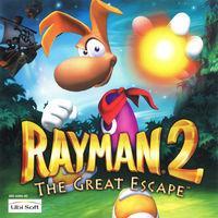 Portada oficial de Rayman 2 para Dreamcast