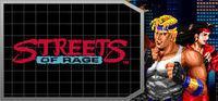 Portada oficial de Streets of Rage para PC