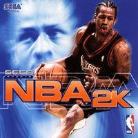 Portada oficial de NBA 2K para Dreamcast