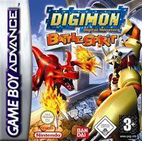 Portada oficial de Digimon Battle Spirit para Game Boy Advance