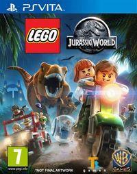 Portada oficial de LEGO Jurassic World para PSVITA