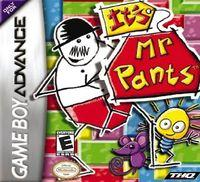 Portada oficial de It's Mr. Pants para Game Boy Advance