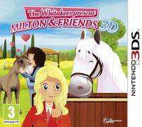 Portada oficial de Riding Stables: The Whitakers present Milton and Friends para Nintendo 3DS