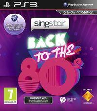 Portada oficial de SingStar Back to the '80s para PS3