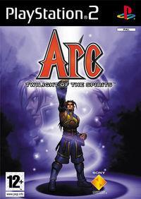 Portada oficial de Arc: Twilight of the Spirits para PS2