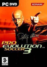 Portada oficial de Pro Evolution Soccer 3 para PC