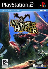 Portada oficial de Monster Hunter para PS2