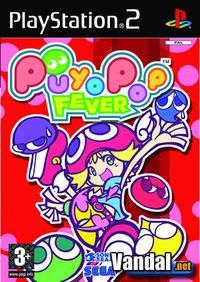 Portada oficial de Puyo Pop Fever para PS2
