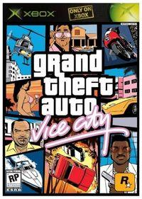Portada oficial de Grand Theft Auto: Vice City para Xbox