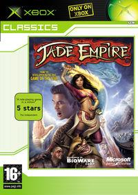 Portada oficial de Jade Empire para Xbox