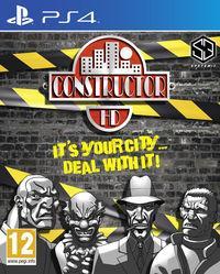 Portada oficial de Constructor HD para PS4