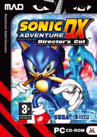 Portada oficial de Sonic Adventure DX para PC