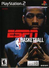 Portada oficial de ESPN NBA Basketball 2K4 para PS2