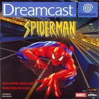 Portada oficial de Spider-Man (2001) para Dreamcast