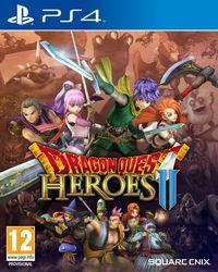 Portada oficial de Dragon Quest Heroes II para PS4